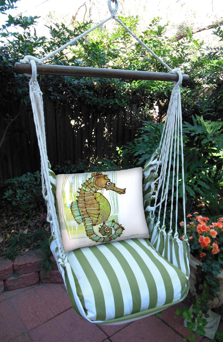 Summer Palm Seahorse Swing Set Ocean Offerings