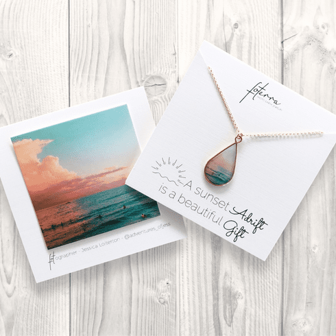 Sunset Gift Necklace