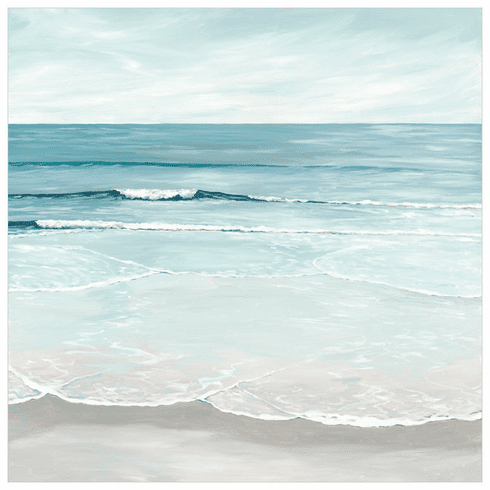 Surf I Wrapped Canvas