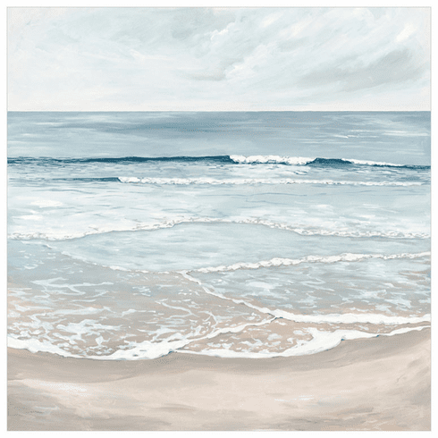 Surf II Wrapped Canvas
