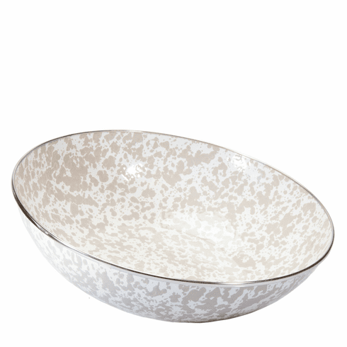 Taupe Swirl Catering Bowl