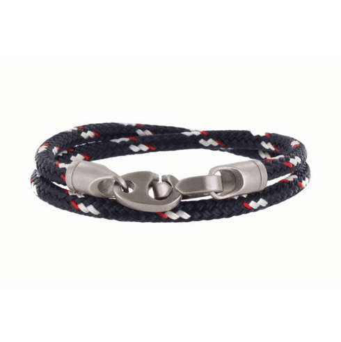 The Contender Double Wrap Rope Bracelet