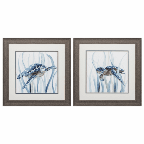 Turtle In Grass - Set of 2