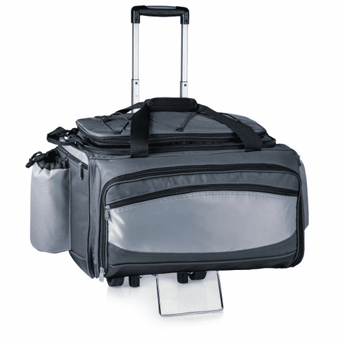 Vulcan Portable Grill & Cooler Tote with Trolley