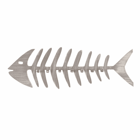 Weathered Dove Tail Bonefish Coat Rack