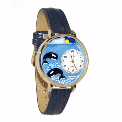 Whale Gold Watch<br > Free Shipping!
