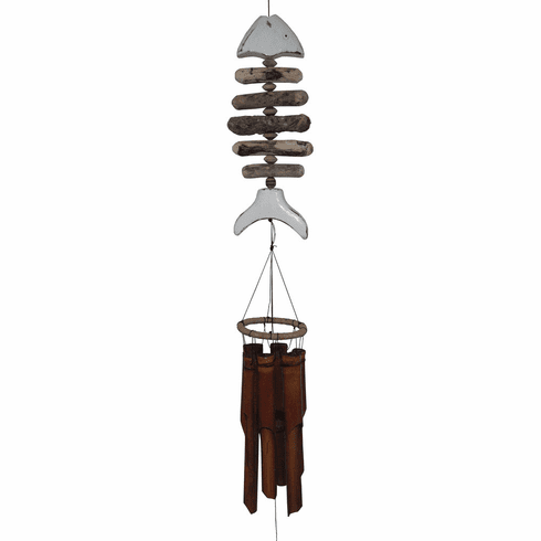 White Tail Bonefish Wind Chime