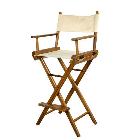 Whitecap Teak Captain's Chair - Natural Seat
