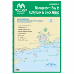 WPB Narragansett Bay to Cuttyhunk & Block Island, 1st Ed. - Click to enlarge