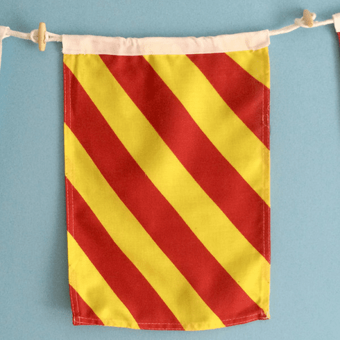 """Y"" Nautical Signal Flag"