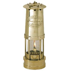 Brass Yacht Lamp - Click to enlarge