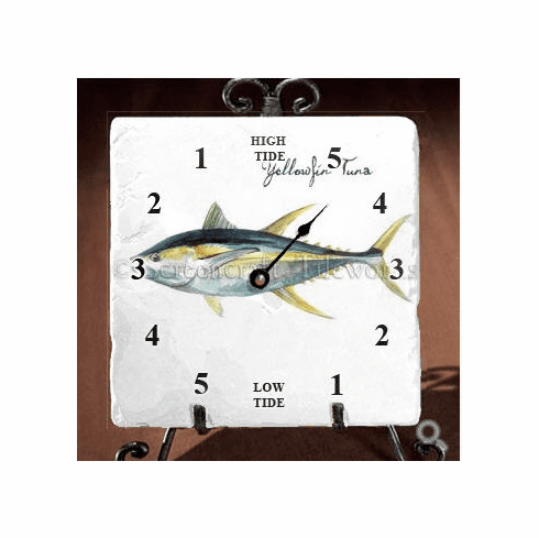 Yellowfin Tuna Tide Clock