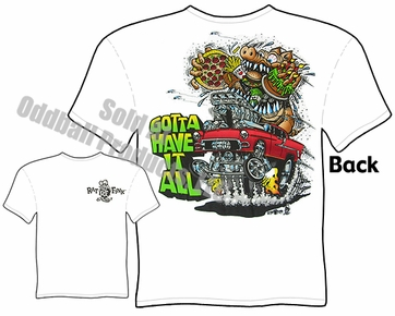 1955 Chevy Rat Fink Tshirt Gotta Have It Ed Roth Tee Big Daddy Clothes