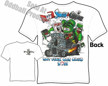 30 31 Ford Rat Fink T Shirt Blood Sweat Greasse Big Daddy Ed Roth Tee