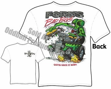 33 34 Ford Rat Fink T Shirt Bad Boys Ed Roth Clothing Big Daddy Tee