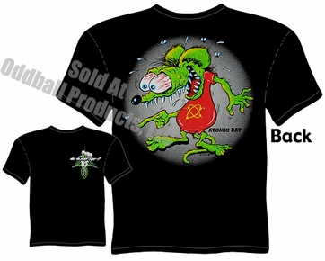 Atomic RatFink T Shirt Big Daddy Clothing Ed Roth Shirts