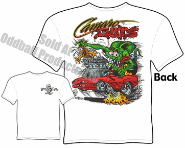 Camaro Guts Ratfink T Shirt Big Daddy Shirts Ed Roth Tee