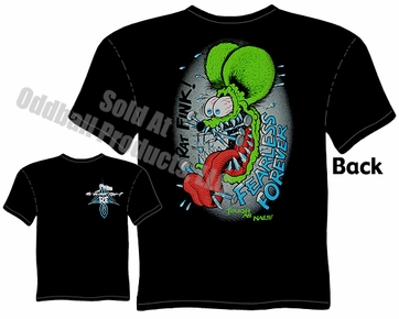 Fearless Rat Fink T Shirt Ed Big Daddy Roth Shirt