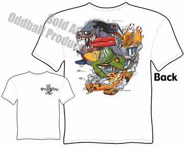 Junkyard Kid Rat Fink T Shirt Big Daddy Ed Roth Clothing