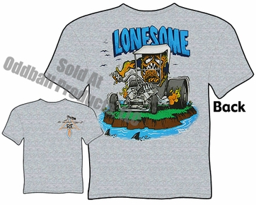 Lonesome Rat Fink T Shirt Model T Ford Ed Roth Shirts Big Daddy T