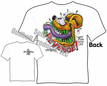 Revenge Rat Fink T Shirt Ed Roth Apparel Big Daddy Clothes