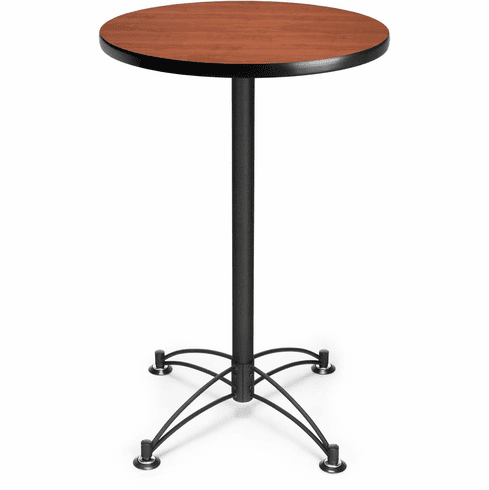 "24"" Round Cafe Table Black Base [CBLT24RD]"
