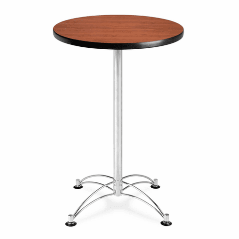"24"" Round Cafe Table [Chrome Base [CCLT24RD]"
