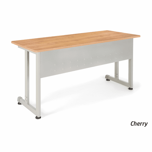 24 X 55 Modular Training Table with Silver Frame [55142]