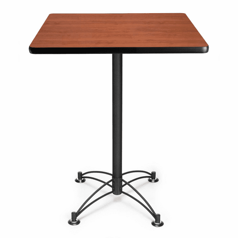 "30"" Square Cafe Table Black Base [CBLT30SQ]"