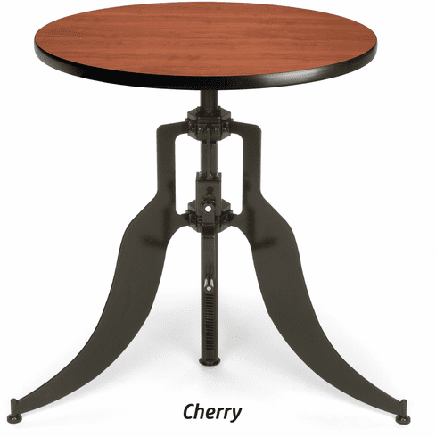 "Adjustable Height Table Base 30"" Round Top [AT30RD]"