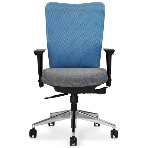 Allseating Inertia High Back Mesh Chair [77140]