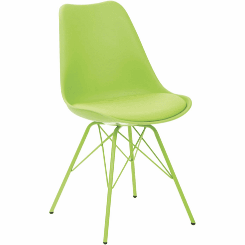 Ave Six Emerson Green Student Side Chair [EMS26G-6]