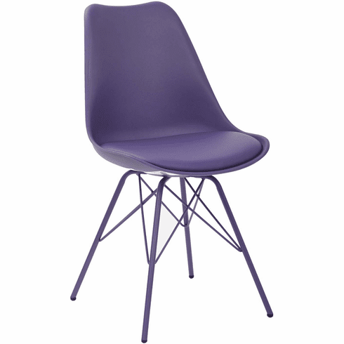 Ave Six Emerson Purple Student Side Chair [EMS26G-512]