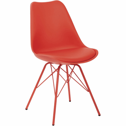 Ave Six Emerson Red Student Side Chair [EMS26G-9]