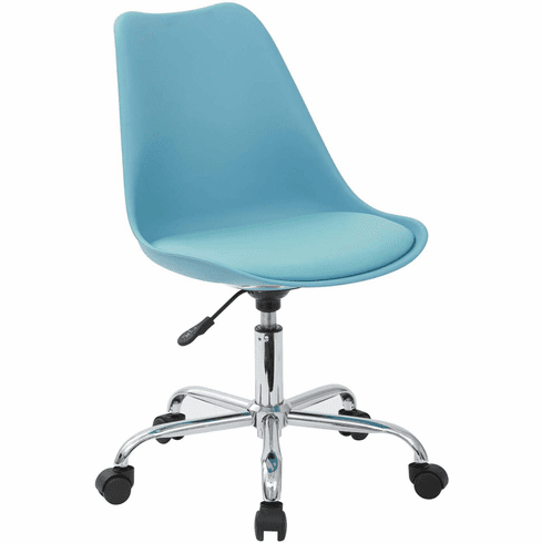 Ave Six Emerson Teal Student Office Chair Pneumatic Base [EMS26-7]