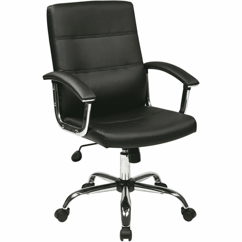 Ave Six Malta Office Chair in Black [MAL26-BK]