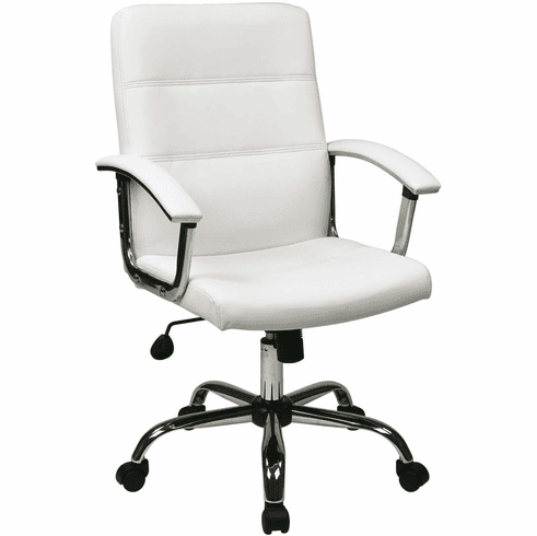 Ave Six Malta Office Chair in White [MAL26-WH]