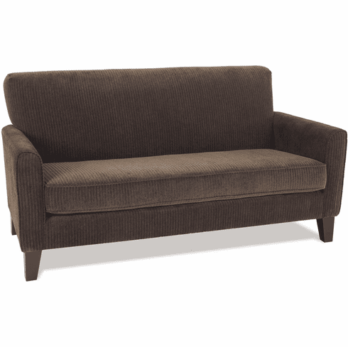 Sensational Ave Six Sierra Loveseat Corduroy Coffee Sra52 C47 Home Interior And Landscaping Ologienasavecom