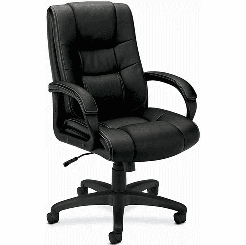 Basyx Executive Faux Leather Chair [VL131]