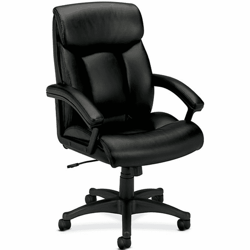 Basyx High Back Leather Executive Chair [VL151]