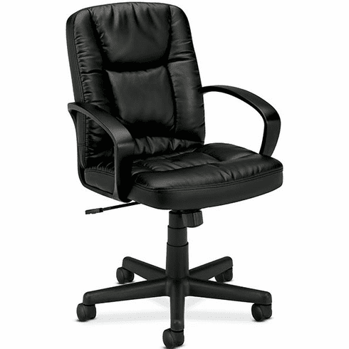 Basyx Leather Mid Back Chair [VL171]