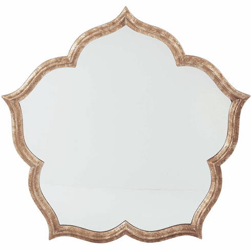 Blossom Wall Mirror with Silver Finish [GC5708]
