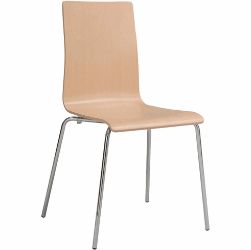 Bosk™ Stack Chair Beechwood Seat & Back Beech Set of 2 [4298BH]