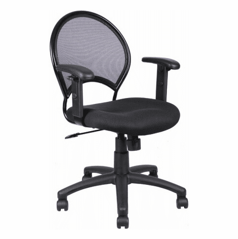 Boss Black Mesh Task Chair [B6216]