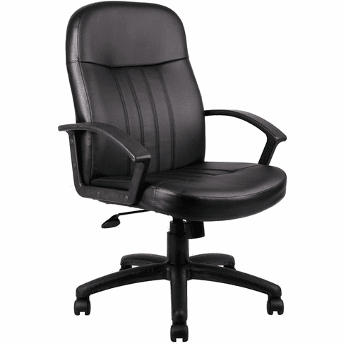Boss Full Back Leather Desk Chair [B8106]