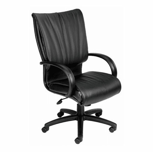 Boss High Back LeatherPlus<sup><font size=1>TM</font></sup> Office Chair [B9701]