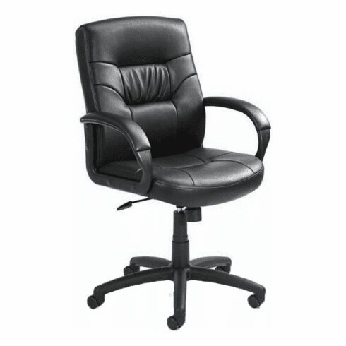 Boss LeatherPlus Swivel Desk Chair [B7506]