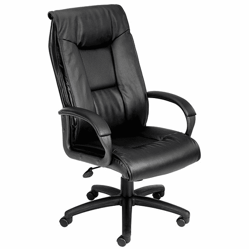 Boss Perforated Leather Executive Chair [B7601]
