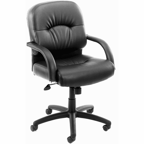 Boss Pillow Back Vinyl Office Chair [B7406]