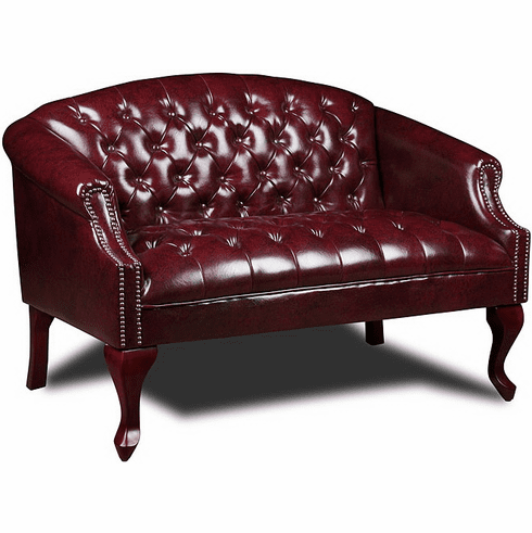 Boss Traditional Button Tufted Loveseat [BR99802]